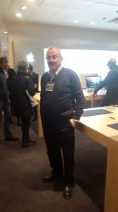 Business trip to Apple Store John Lewis Oxford Street on boxing day 2015.